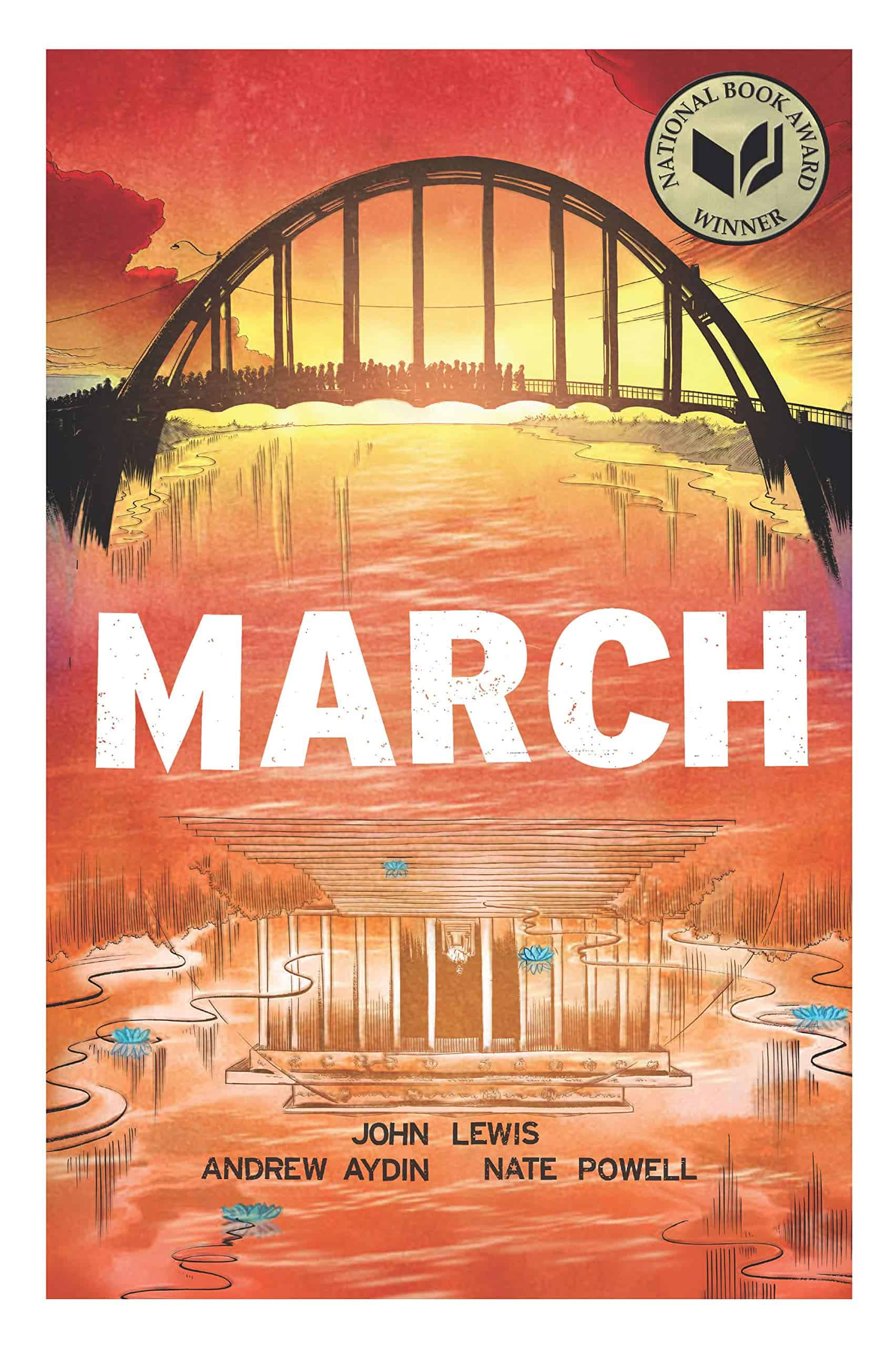 John Lewis, March Trilogy, Best Indie Comics Decade Smithsonian IDW Graphic Novels