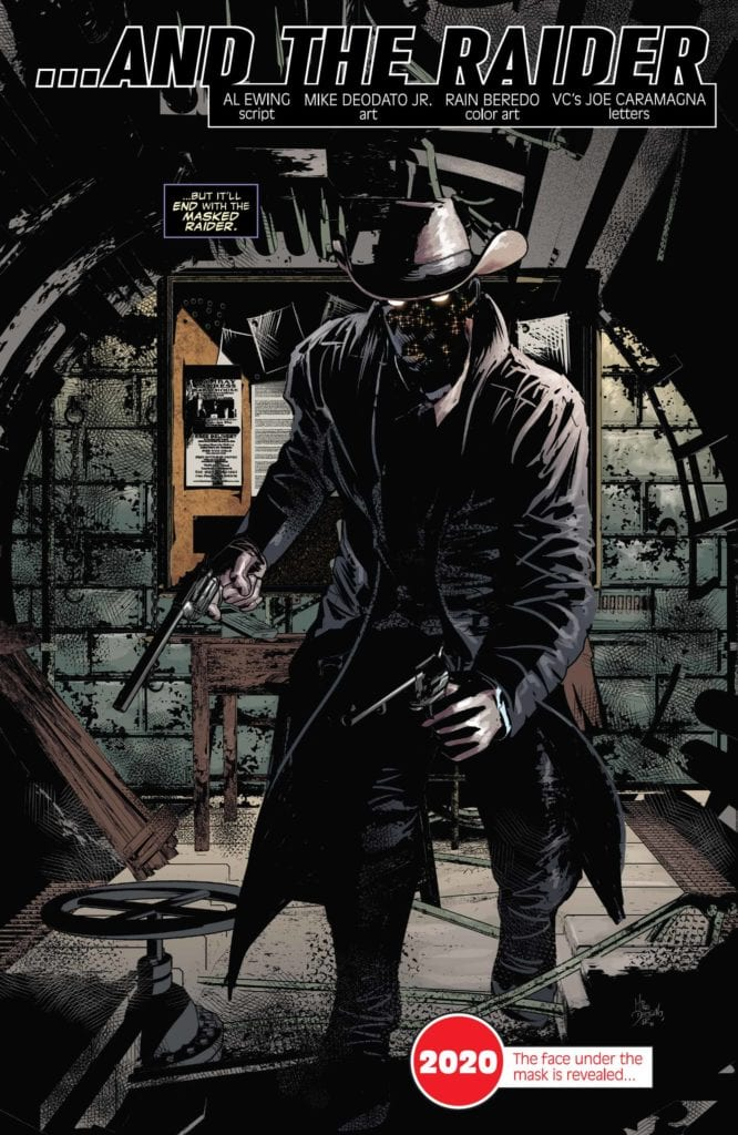Masked Raider, Marvel Comics Marvel Comics #1001, Incoming, Empyre, Outlawed