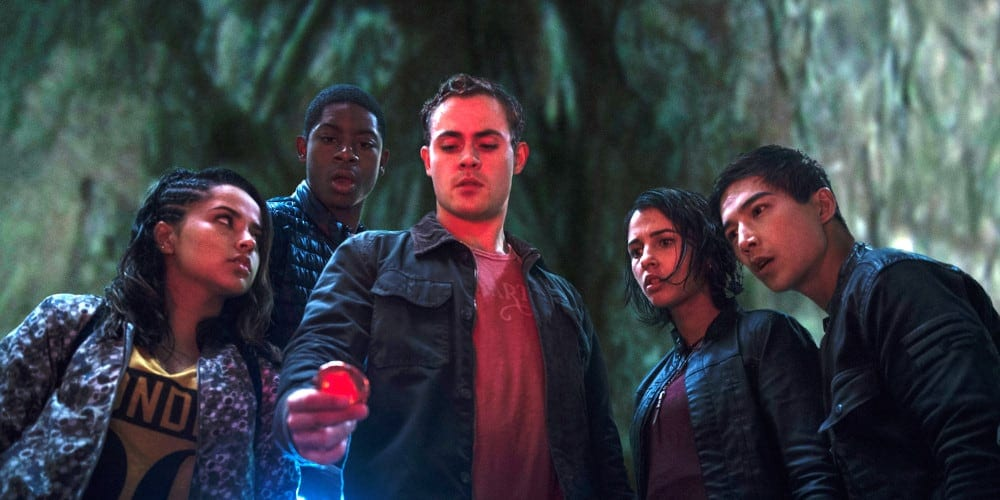 Cast from Saban's Power Rangers reboot.