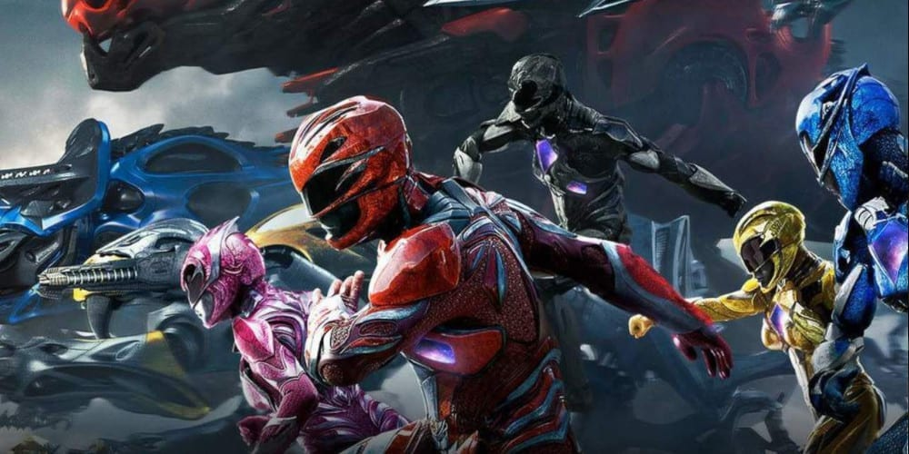 The new Rangers from Saban's Power Rangers reboot.