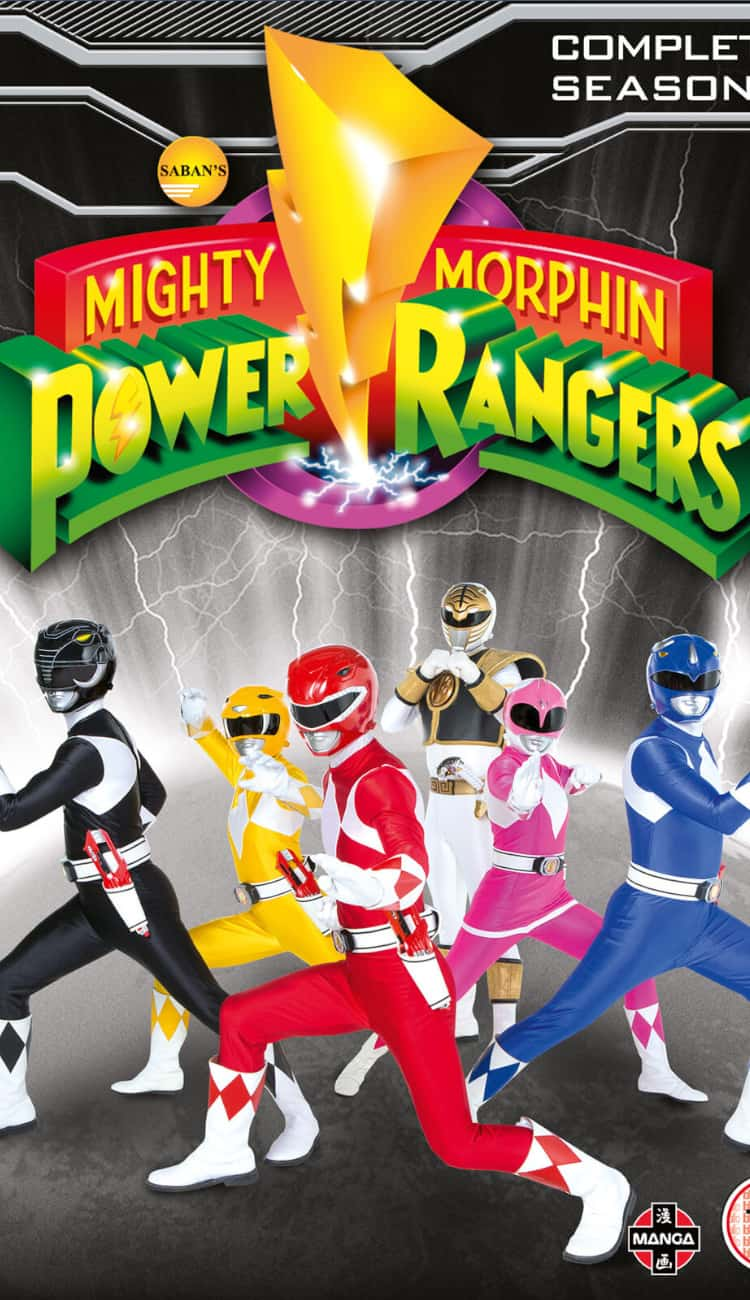 Poster for the series before Haim Saban's Power Rangers reboot.