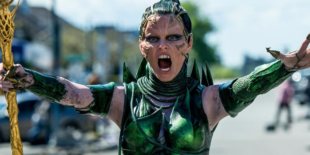 Rita Repulsa from Saban's Power Rangers reboot.
