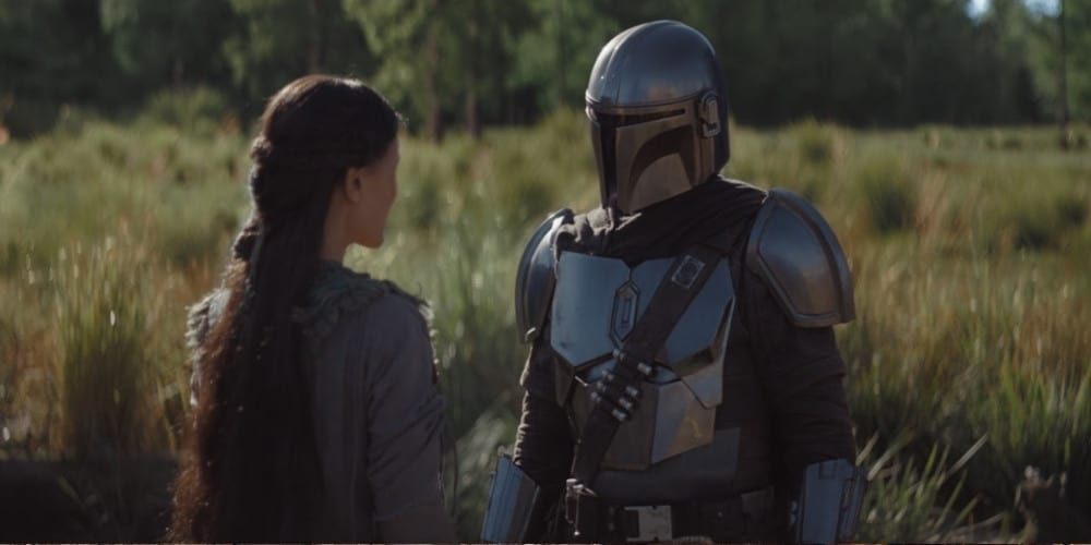 Image from Episode 4 of The Mandalorian