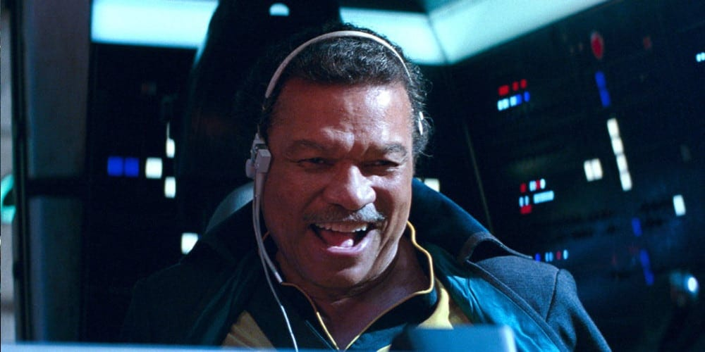 Billy Dee Williams in The Rise Of Skywalker
