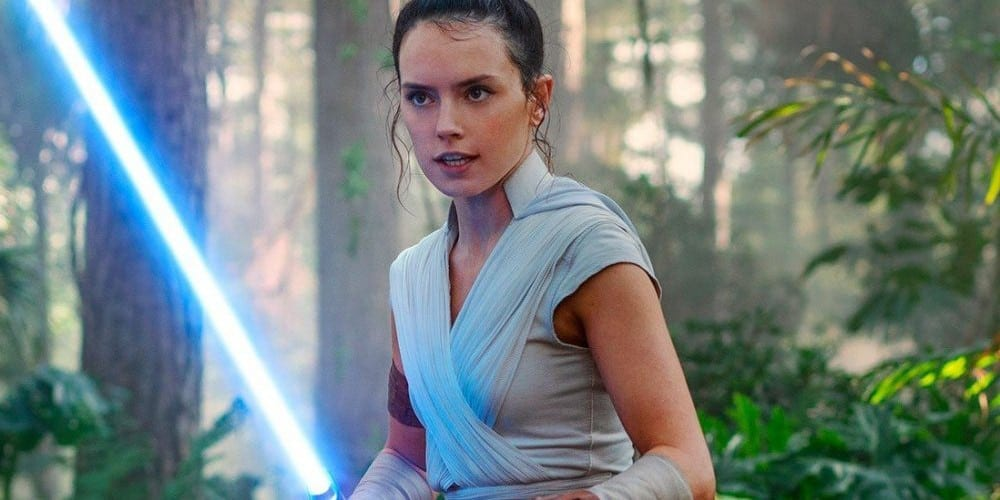 Daisy Ridley in Star Wars: The Rise Of Skywalker