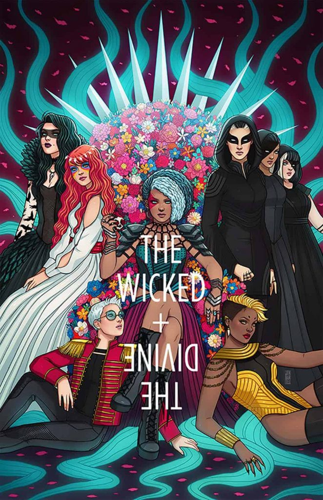 Kieron Gillen, The Wicked + The Divine, Image Comics, Best Indie Comics Decade
