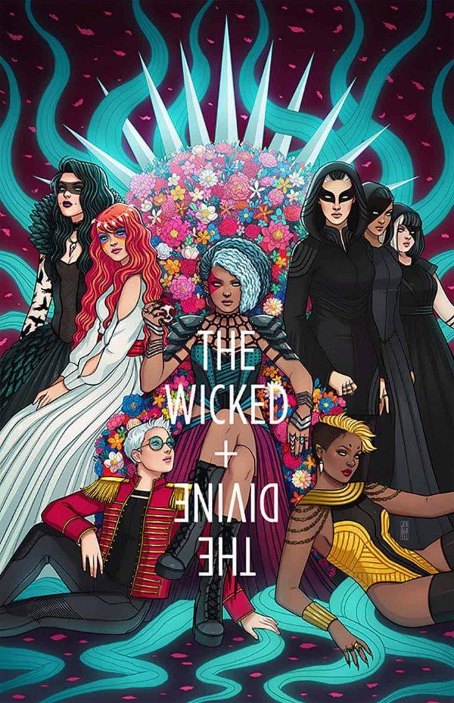 Kieron Gillen, The Wicked + The Divine, Image Comics, Best Indie Comics Decade