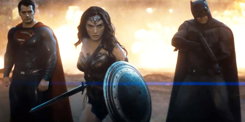 A scene of Wonder Woman from Batman V. Superman: Dawn Of Justice