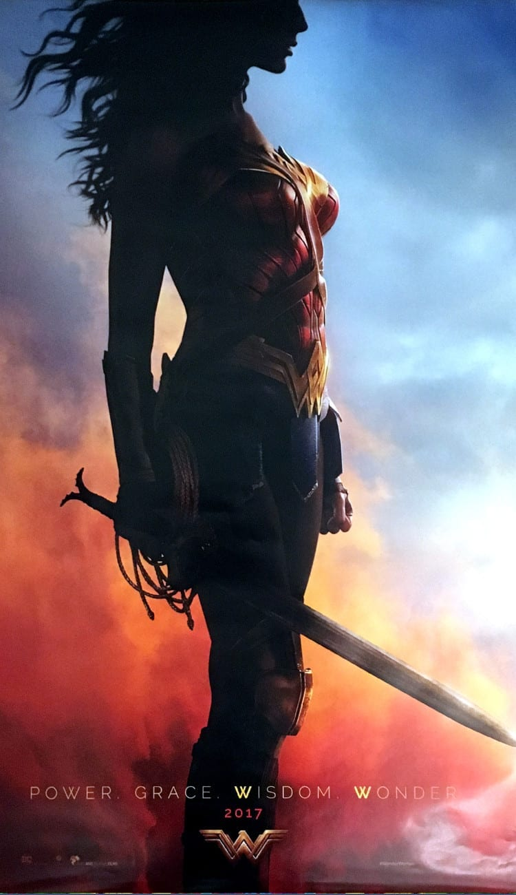 Poster of Wonder Woman.