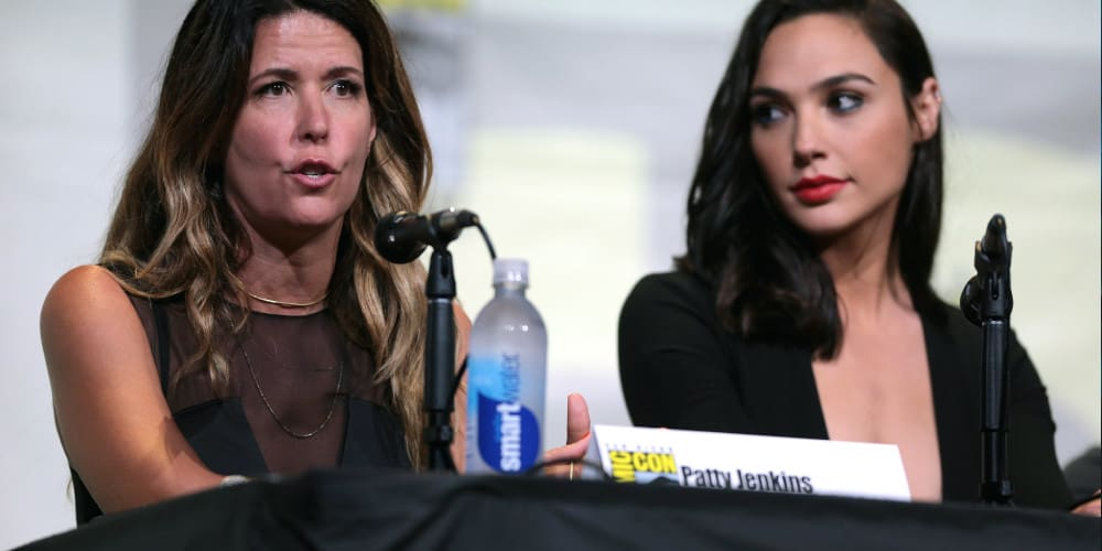 Wonder Woman 3 director Patty Jenkins with actor Gal Gadot