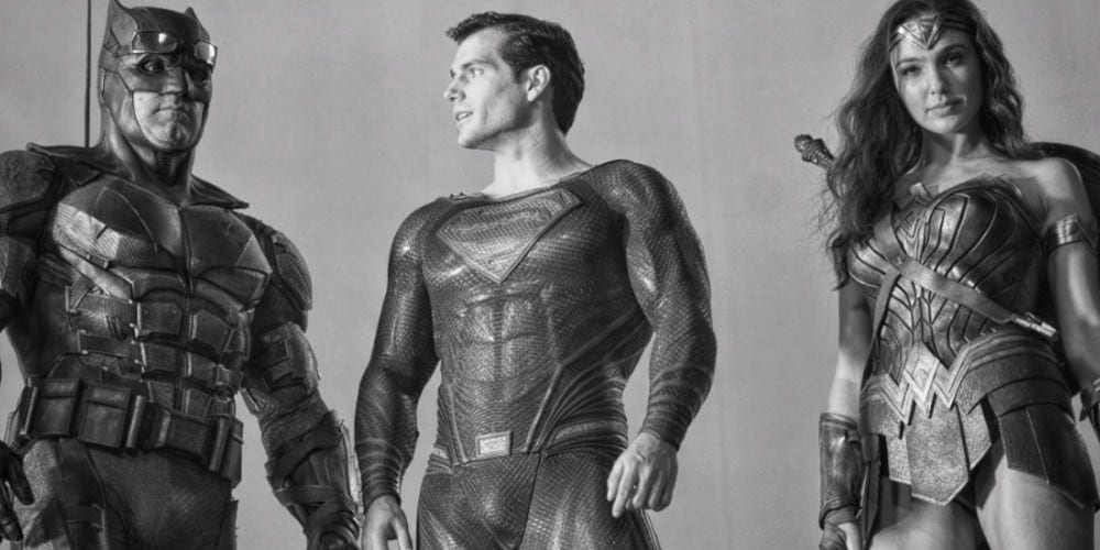 The Justice League Team in Zack Snyder's Cut.