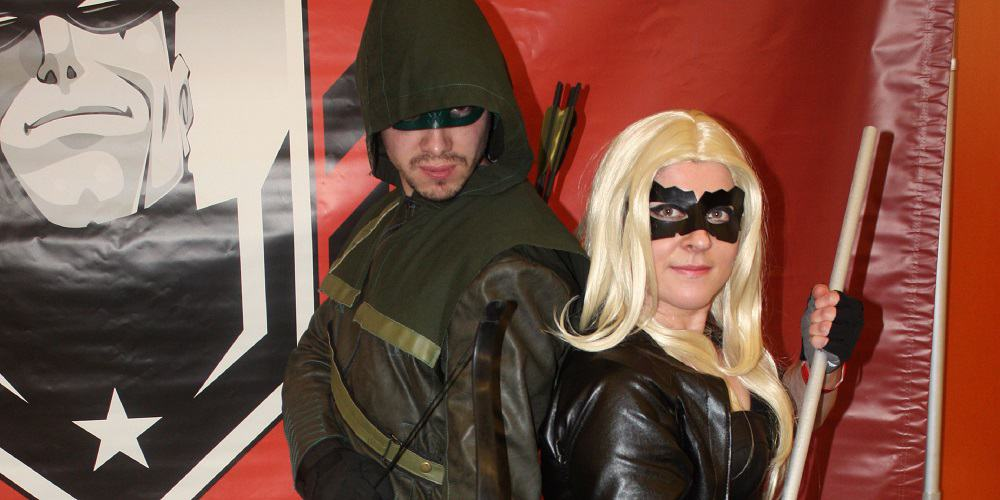 Arrow Legacy Green Arrow and the Canaries Cosplay
