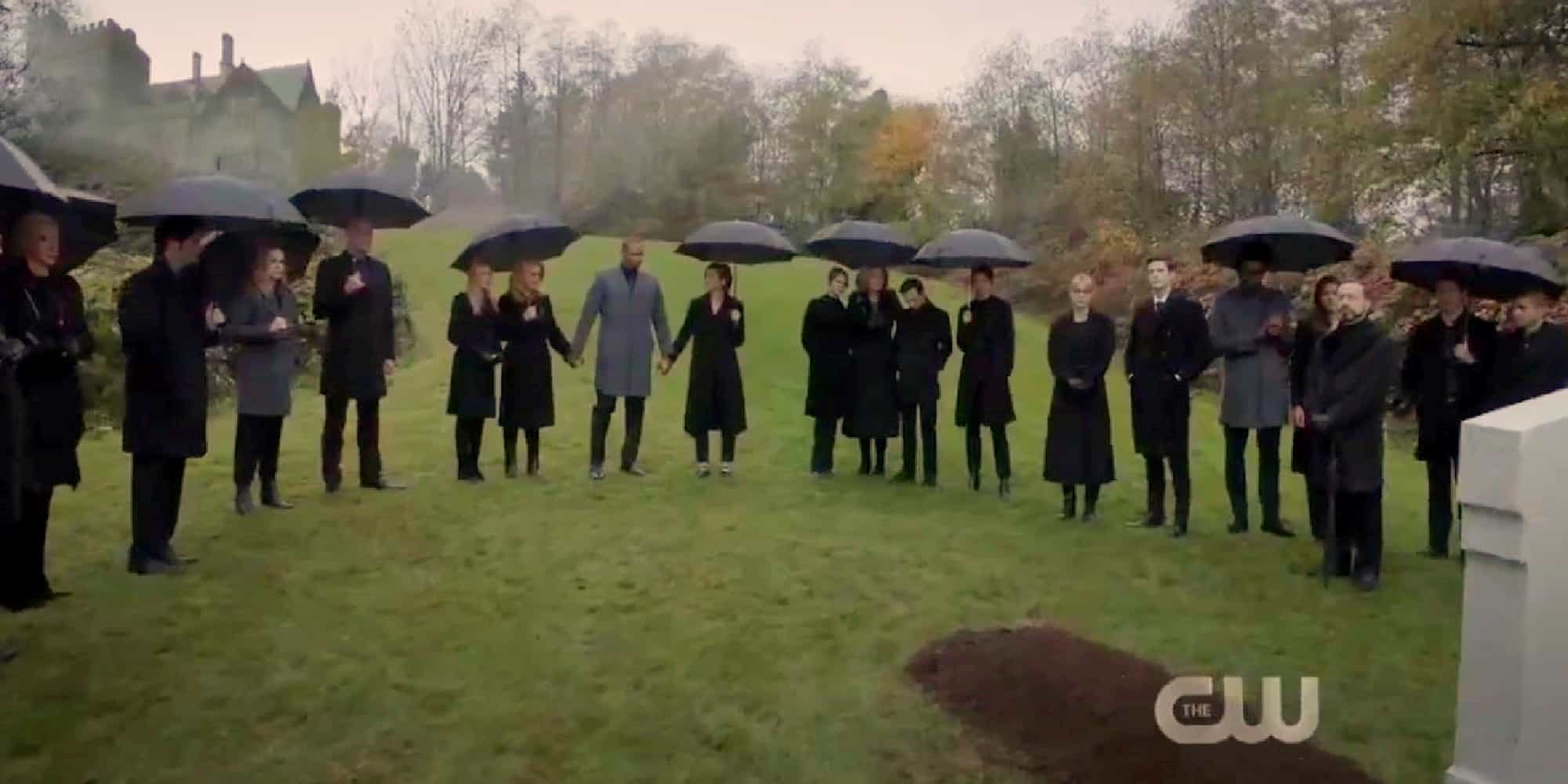 Arrow Series Finale Featured Funeral Scene