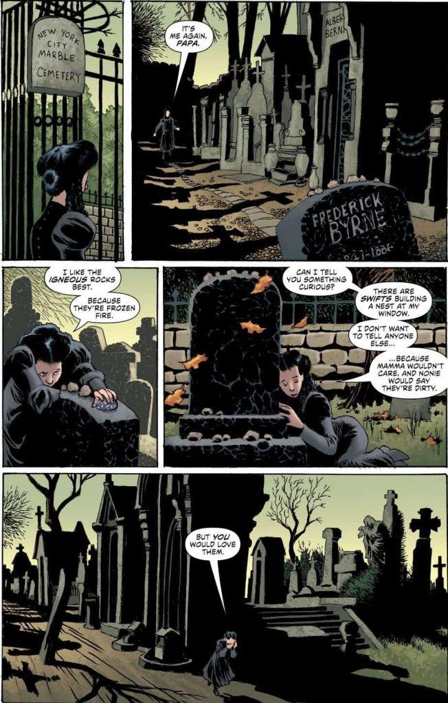 Daphne Byrne, Laura Marks, DC Comics, Horror Comics