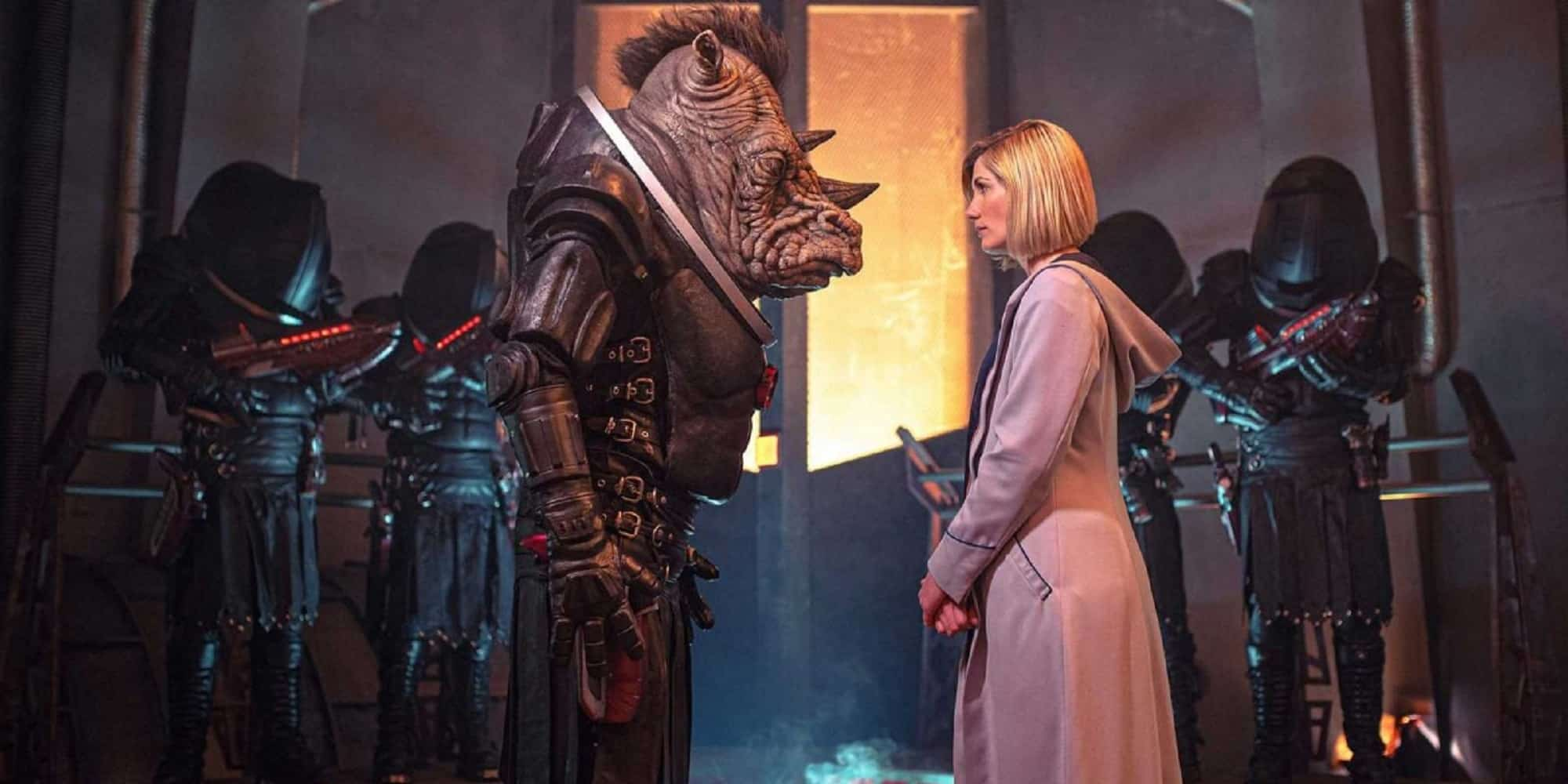 First Black Female Doctor Who Judoon and Jodie