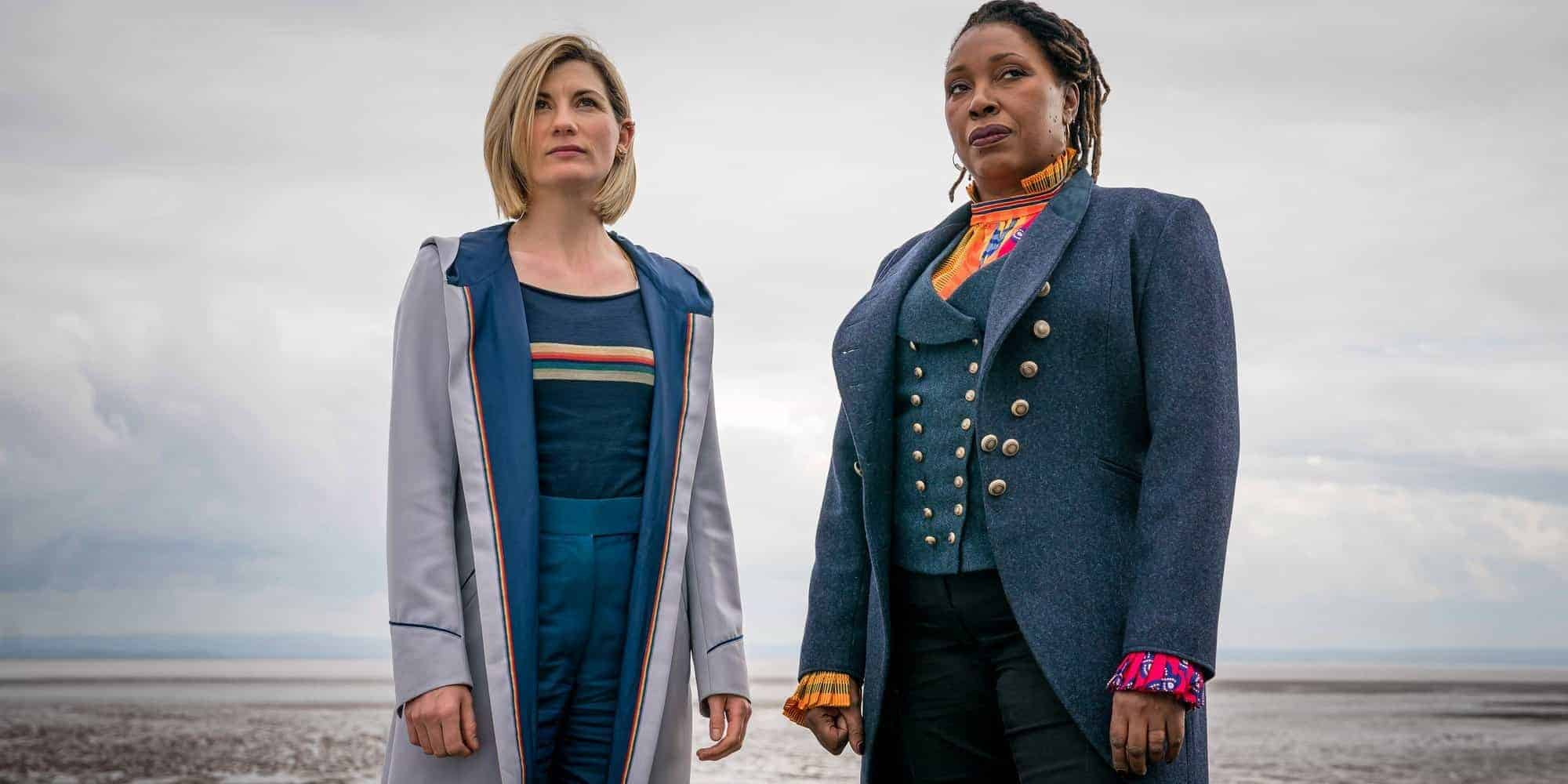 First black female doctor who jo martin and jodie whittaker