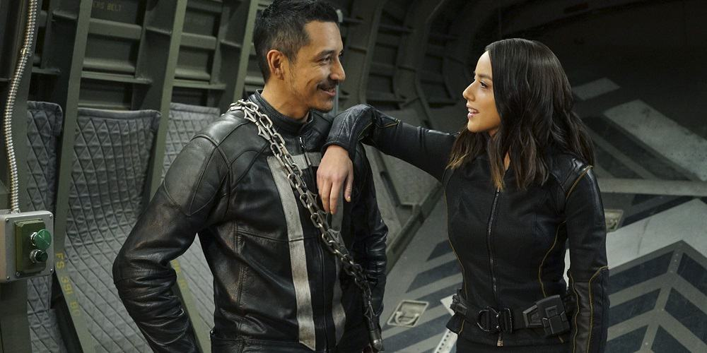 Gabriel Luna Ghost Rider Series Canceled Hulu Robbie Reyes and Chloe Bennet Quake Daisy Johnson
