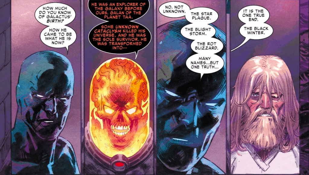 Thor, Donny Cates, Silver Surfer, Cosmic Ghost Rider, Heralds of Galactus, Galactus