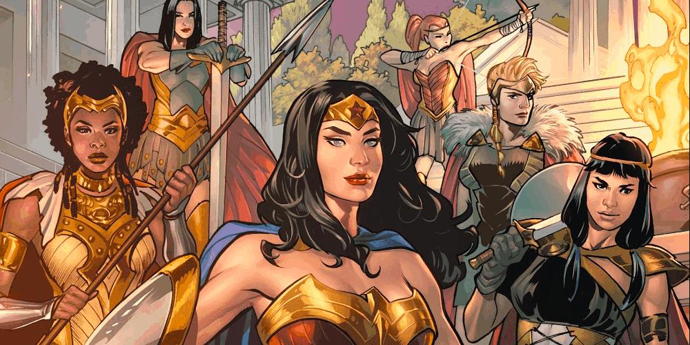 DC Comics, Wonder Woman #750 Celebration, Wonder Woman, Themyscira, Amazons