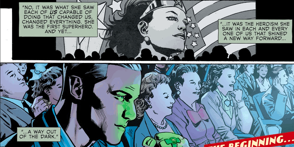 First Superhero, Green Lantern, DC G5