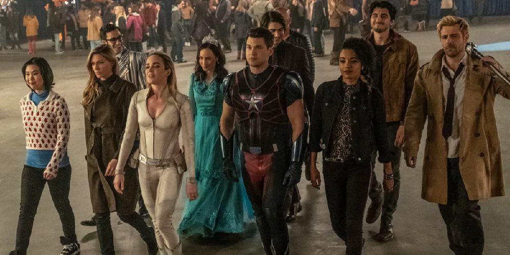 Season 5 premiere legends of tomorrow The gang