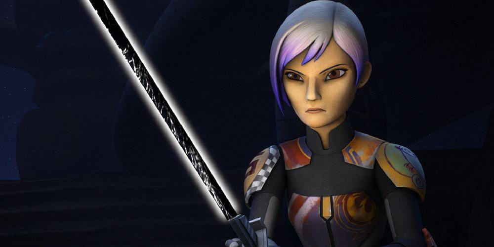 Star Wars Rebels Sequel Series Disney+ 2020 Sabine and the Dark saber