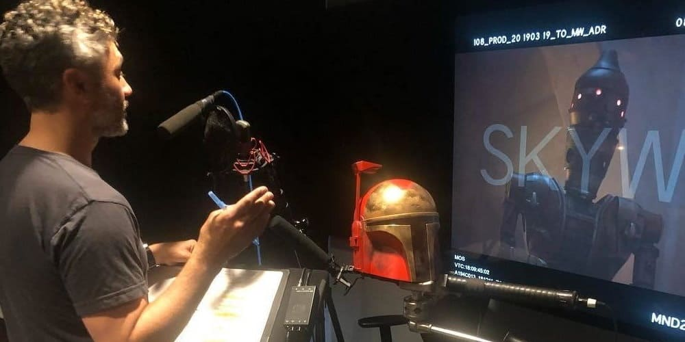 Taika Waititi Talks Direct Star Wars Movie Mandalorian Session Via Favreau