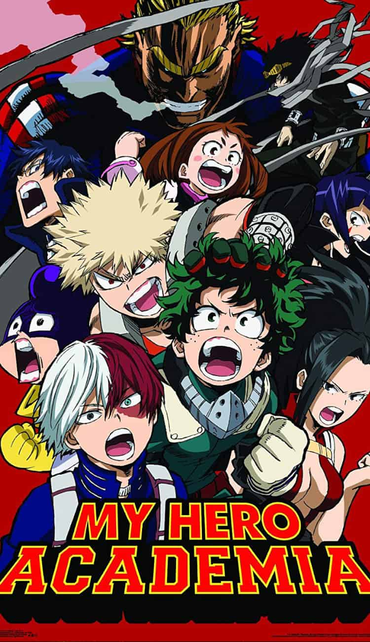 My Hero Academia is one of the best new anime of the decade.
