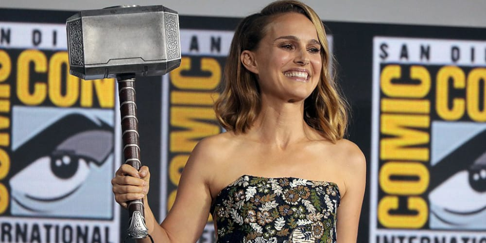 Natalie Portman Will be in Thor: Love And Thunder Christian Bale