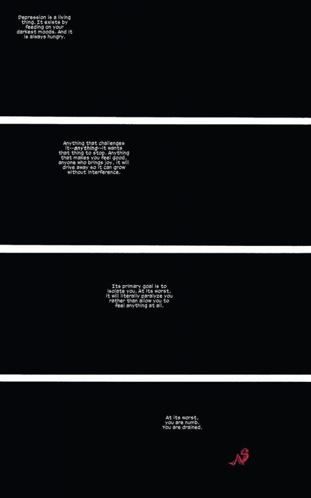 Depression, Daredevil, Mark Waid