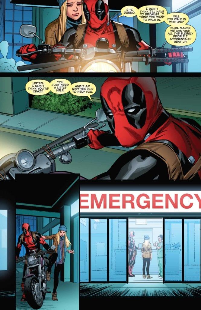 Deadpool, Suicide, Mental Health