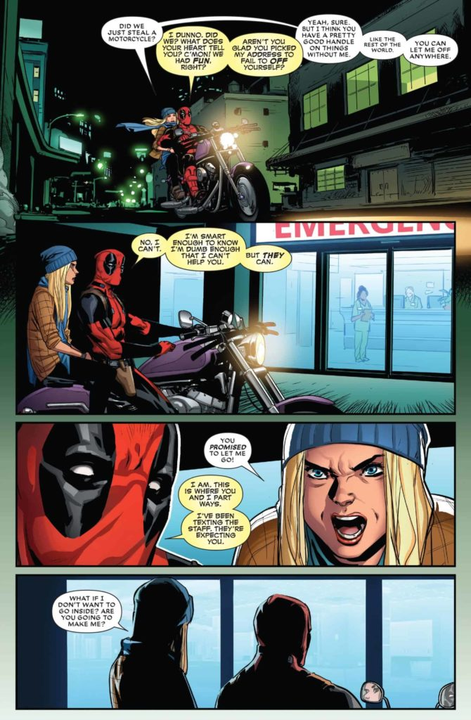 Deadpool, Superhero, Depression, Gerry Duggan