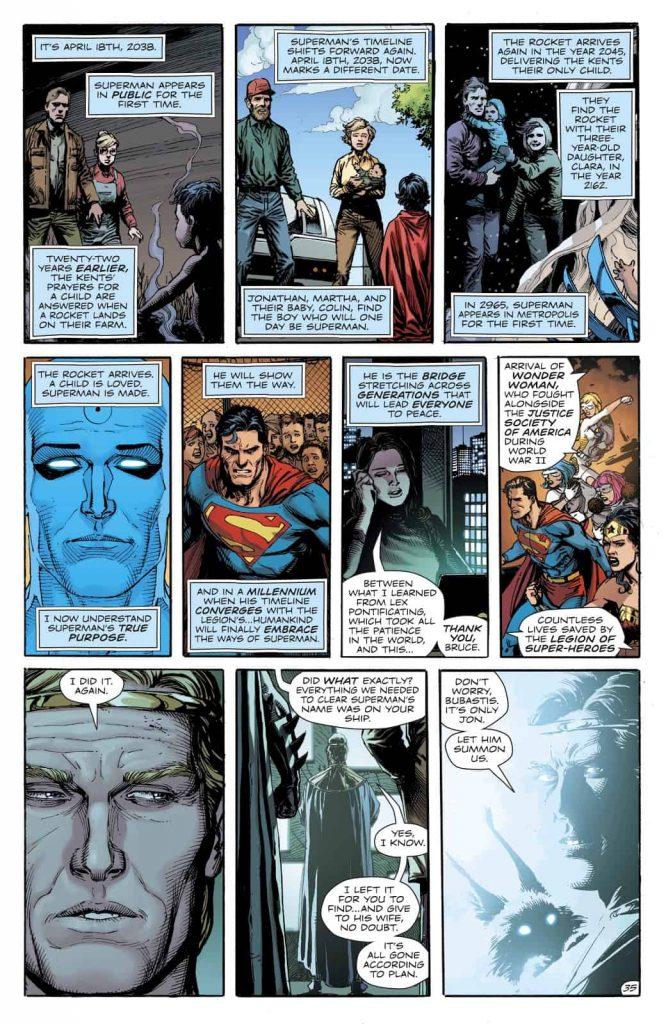 Doomsday Clock, DC Universe Timeline Reset, Geoff Johns, Dan Didio