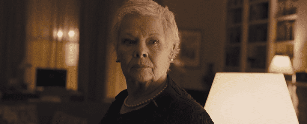 Judi Dench, Skyfall, James Bond, Professor X, MCU, X-Men, Patrick Stewart