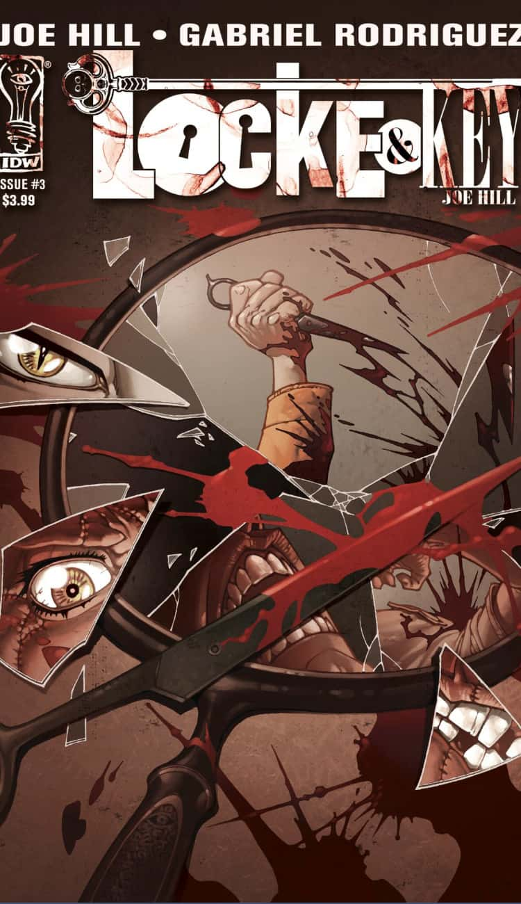 Locke And Key trailer poster of graphic novel. Locke And Key trailer