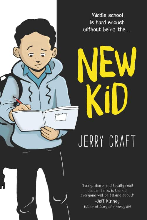 New Kid, Newbery Award, Jerry Craft, First Graphic Novel Newbery