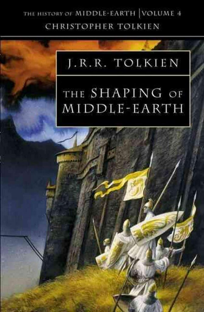 Shaping of Middle-Earth, Harper Collins, JRR Tolkien, Christopher Tolkien
