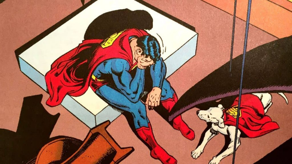 Superhero Suffer Depression, Superman