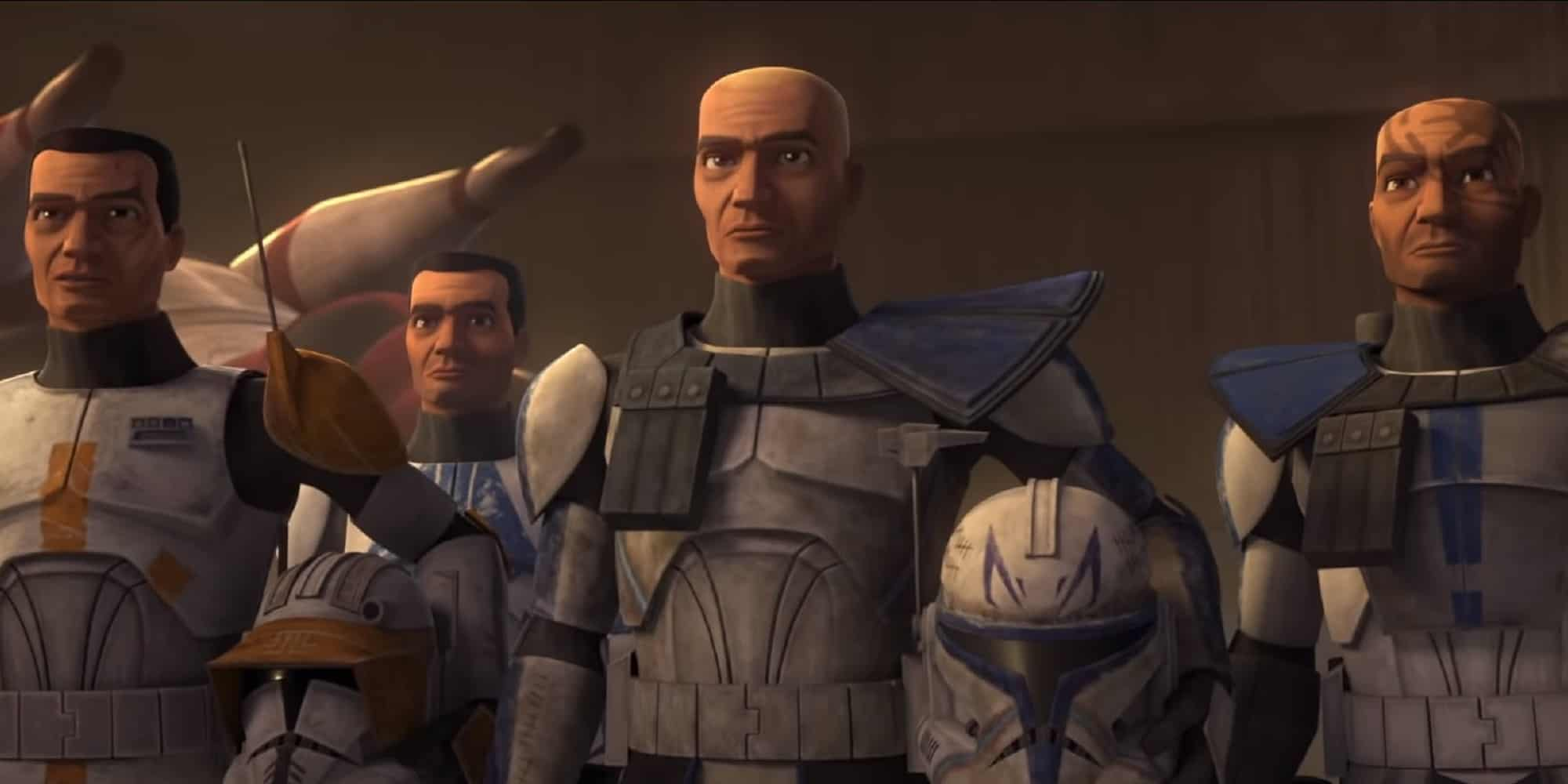 the clone wars final season trailer group of clones
