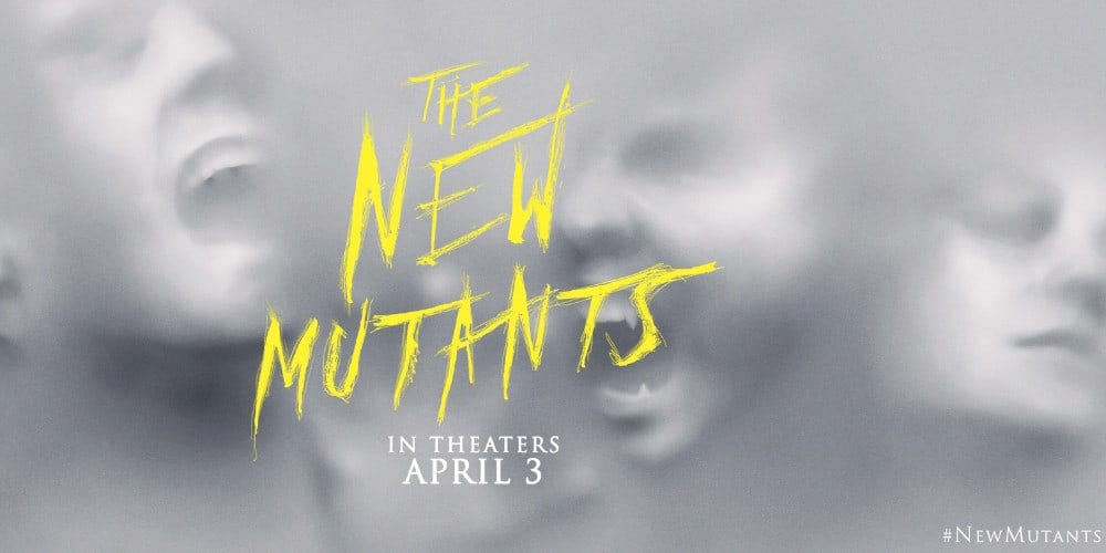 The New Mutants in the MCU poster