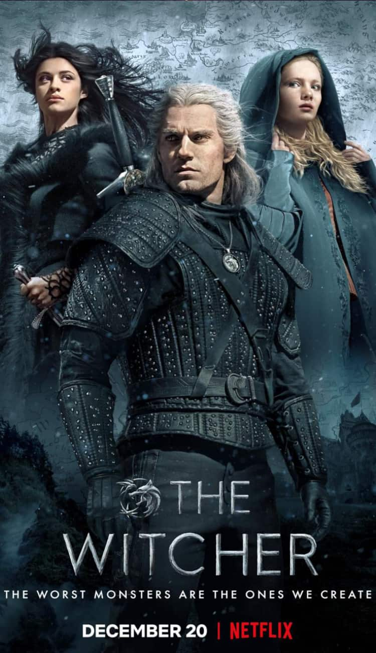The Witcher Anime TV Show Poster