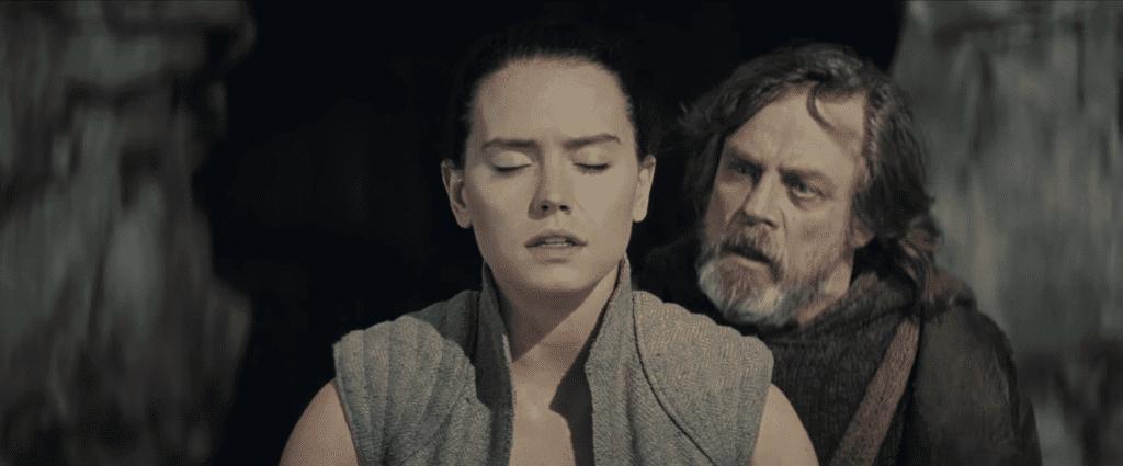 Luke Skywalker, Rey Skywalker, TLJ, TROS The Rise of Skywalker Last Jedi