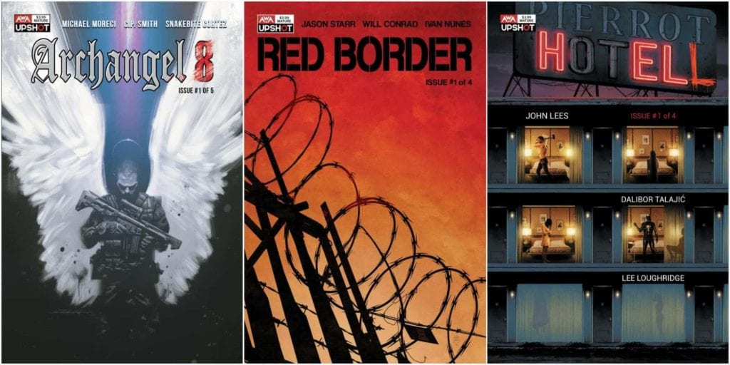 AWA Upshot, New Universe, Red Border, Archangel 8, Hotell