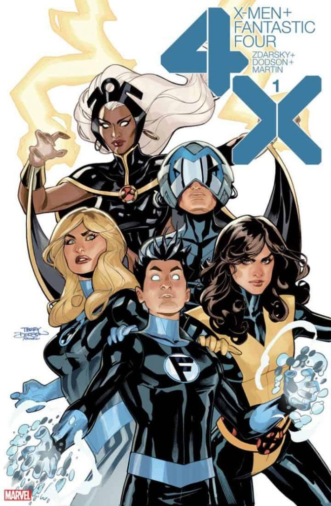 X-Men, Fantastic Four, Chip Zdarksy, Dawn of X Wave Two, Franklin Richards