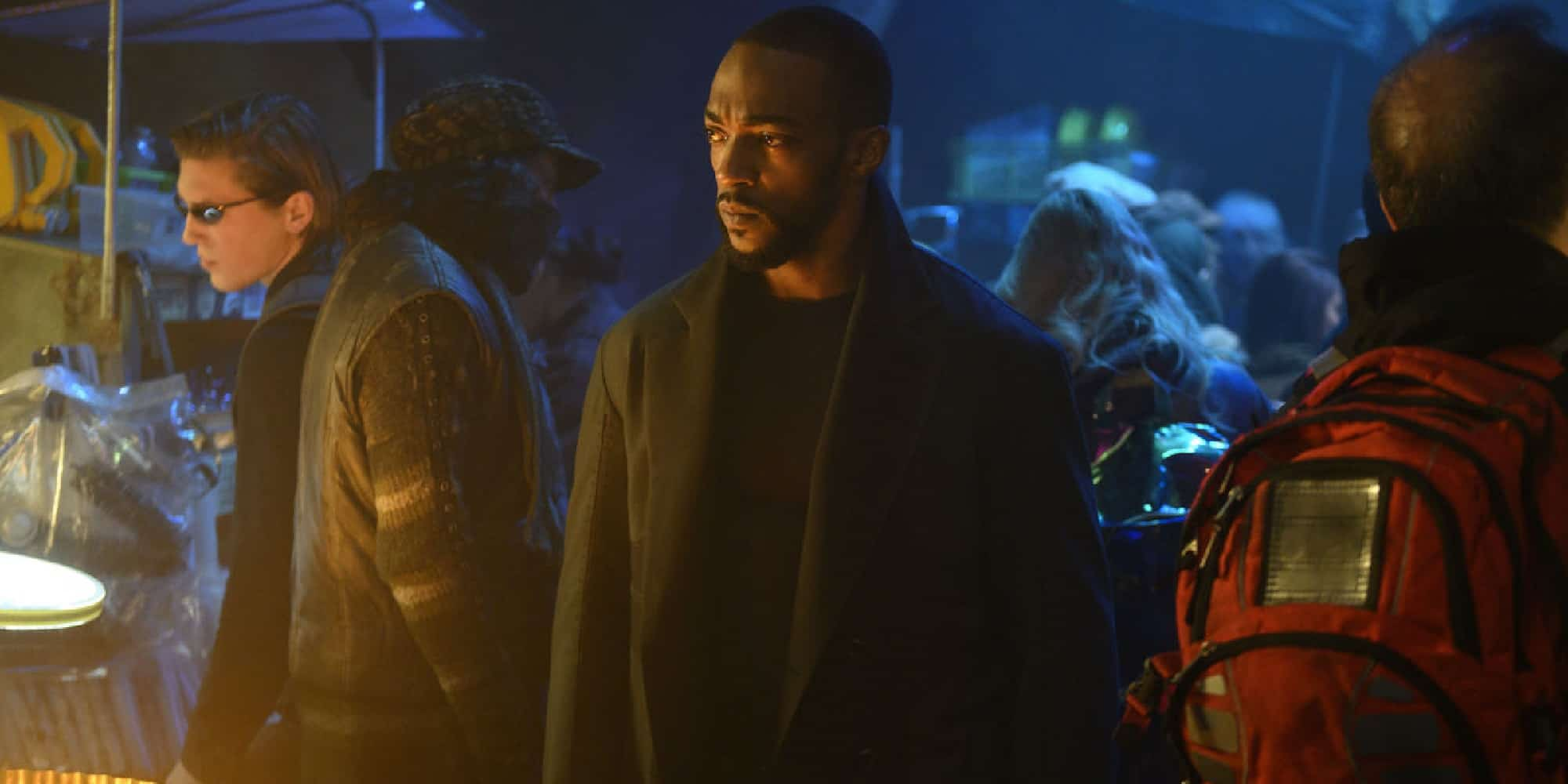 Altered Carbon Season 2 review Anthony Mackie Takeshi Kovacs, Anthony Mackie Marvel Studios Diversity Hiring