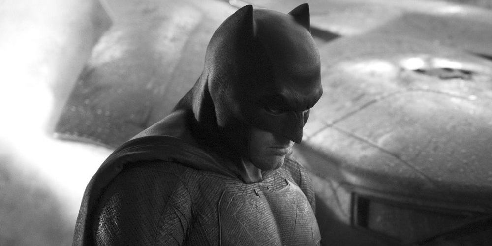 Ben Affleck Stopped Being the Batman Black and White