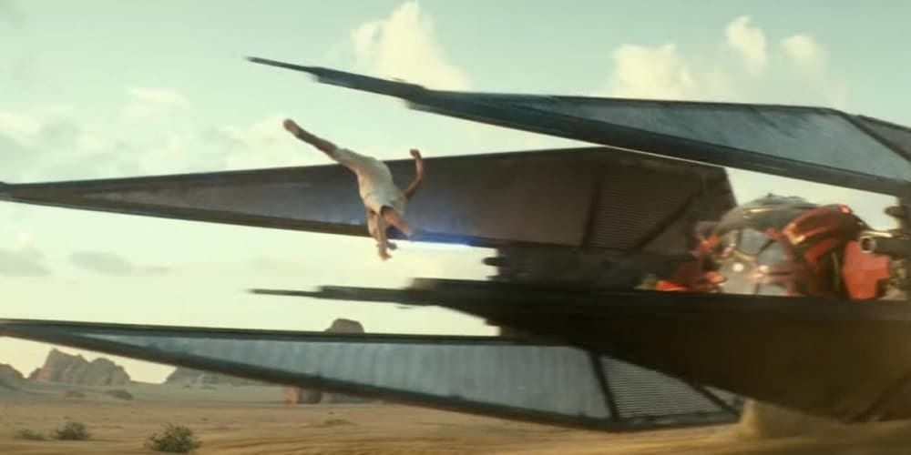 CGI The rise of skywalker