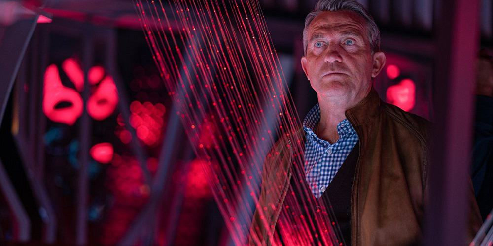 Doctor Who Graham Cancer Controversy Bradley Walsh Space Harp Controls