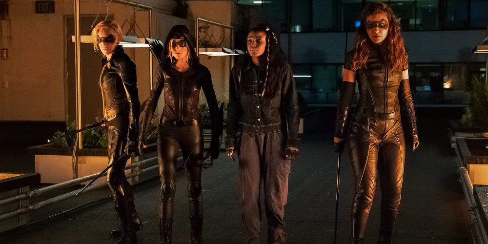 Green Arrow and the Canaries PIcked Up by CW Girl Gang