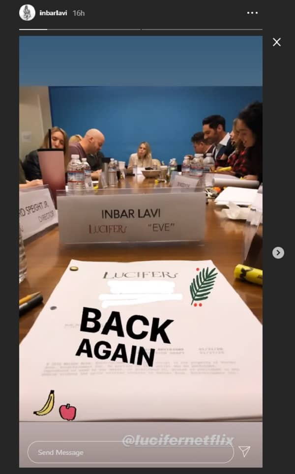 Lucifer Season 5 First Look Shows Inbar Lavi Is Back As The First Woman